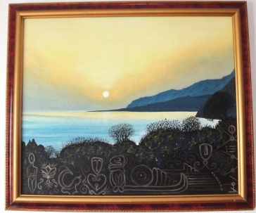 Kreta SonnenuntergangsPlatz